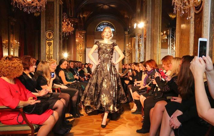 Anna netrebko at irina vitjaz 39 pure couture 39 presentation for Wohndesign pure vienna 2014