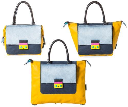 Fashionoffice S Practical Fw16 17 Tip Gabs Transformer Handbag Per Tote
